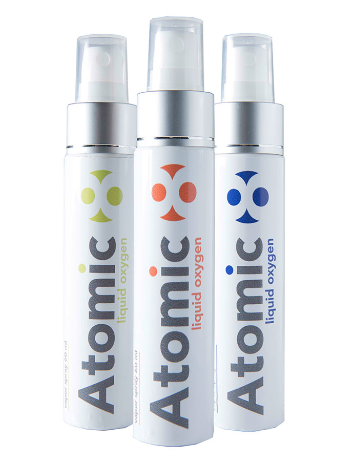 Atomic 8 Liquid Oxygen Spray